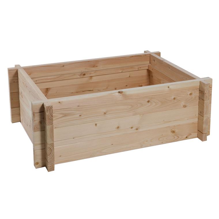 tour en bois potager bassin aquatique 120 x 80 x 48 cm cr ation de bassin de jardin autres. Black Bedroom Furniture Sets. Home Design Ideas
