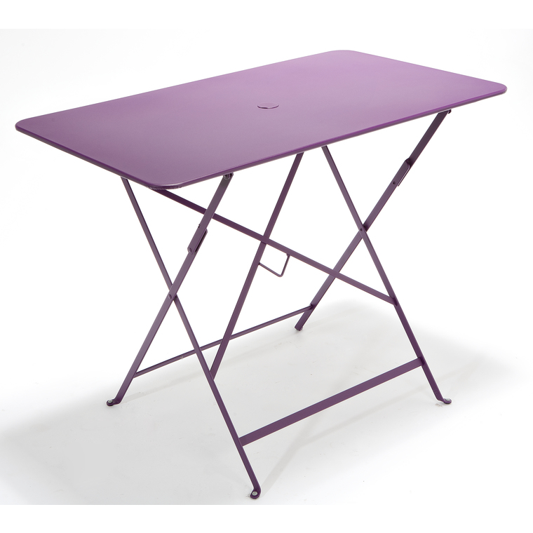 Table de jardin pliante Bistro FERMOB aubergine L77xl57xh74 : Tables ...