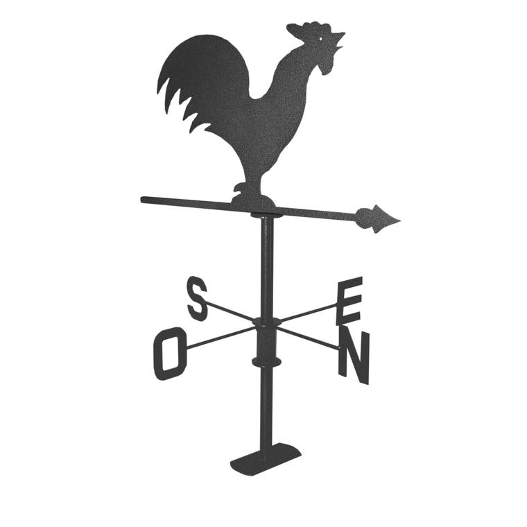 Girouette coq en ardoise gris martelé : Décoration du jardin LOUIS ...