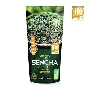 Thé vert japonais sencha bio en sachet de 85 g 100449