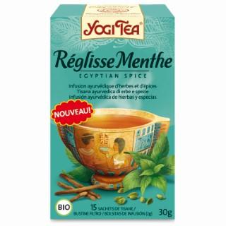 Yogi Tea Réglisse menthe – La boîte de 17 sachets 103066