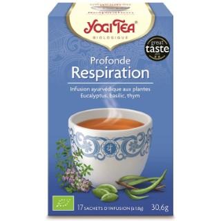 Yogi Tea Profonde respiration – La boîte de 17 sachets 103080