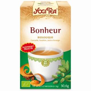 Yogi Tea Bonheur – La boîte de 17 sachets 103091