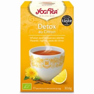 Yogi Tea Detox au citron – La boîte de 17 sachets 103099