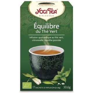 Yogi Tea Équilibre du thé vert – La boîte de 17 sachets 103100