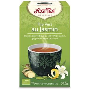 Yogi Tea Thé vert au jasmin – La boîte de 17 sachets 103102