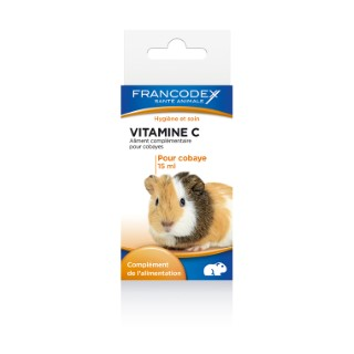 Vitamines C Francodex pour cobaye - 15 ml 10388