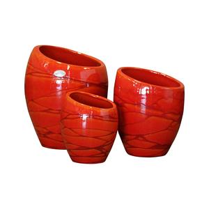 pot orion soleil souchant h 40 x 29 cm pots balcon et terrasse les poteries d 39 albi balcon. Black Bedroom Furniture Sets. Home Design Ideas