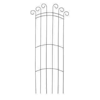 Grille rosier Ogive fer vieilli 180x80 cm 104225