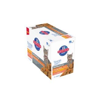 Pack de sachets pour chat stérilisé Hill's - 12 x 85 gr 104650