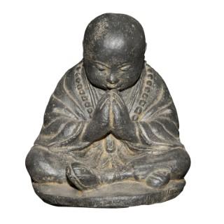 Statue de jardin Moine priant H 47 cm 105301