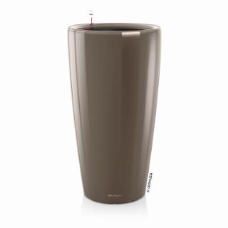 Pot à réserve d'eau Rondo Taupe Ø.32 x H.56 cm 105506
