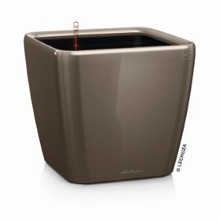 Pot à réserve d'eau Quadro Taupe L.35x35 x H.33 cm 105521