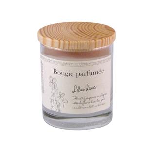 Bougie parfumée Lilas Blanc 107753