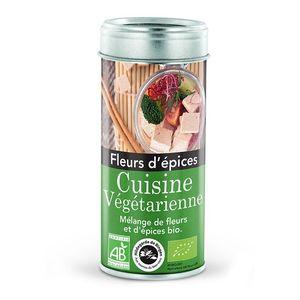 Fleurs d'épices bio pour cuisine végétarienne - 50 g 107979