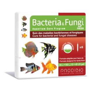Traitement bacteria et fungi eau douce en ampoules x 6 108839
