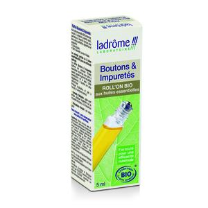 Roll'on bio boutons et impuretés Ladrôme - 5 ml 108858