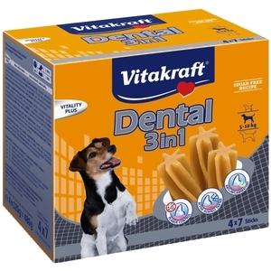 Multipack dental 3 en 1 pour petits chiens x4 109482