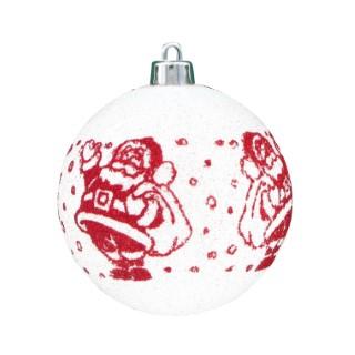 Boule Père Noël x 6 109909