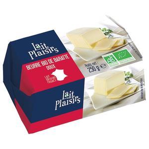 Beurre de baratte doux 250g LAIT PLAISIRS 110386