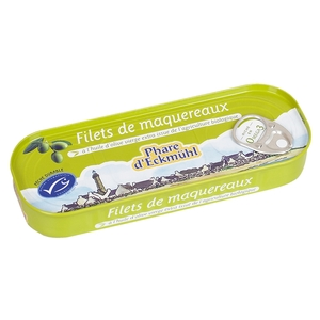 Filet de maquereau à l'huile d'olive 118 g 114753