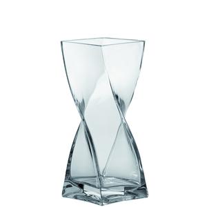 Vase Swirl transparent – H 25 cm 115002