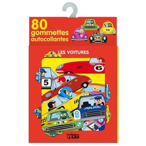 Les Voitures 80 Gommettes Autocollantes 3 ans Éditions Lito 115110