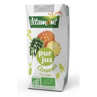 Pur jus d'ananas bio 6 x 20 cl 115317
