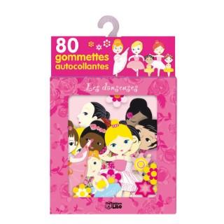 Les Danseuses 80 Gommettes Autocollantes 3 ans Éditions Lito 117759