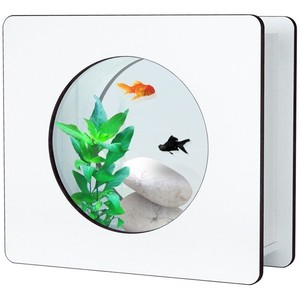 Aquarium Nano Fashion Vision 1 Dennerlé bois blanc 118232