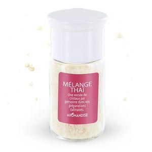 Cristaux d'huiles essentielles au mélange thaï bio en boite de 10 g 118762