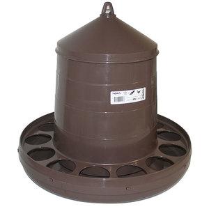 Mangeoire à trémie pour volailles en plastique 12 kg 119712