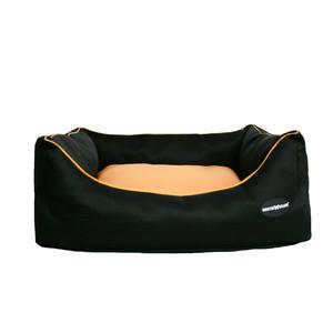 Corbeille waterproof Domino noir/orange 120339