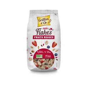 Super Flakes aux fruits rouges bio - 375 gr 121236