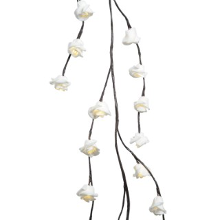 Guirlande lumineuse branches de roses intérieur 122477
