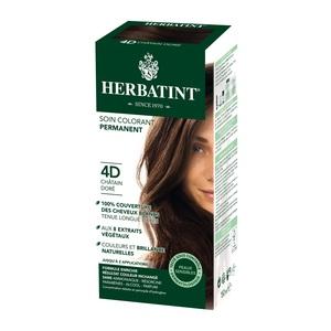Coloration Herbatint Châtain doré - 4D.145 ml 122843
