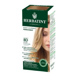 Coloration Herbatint Blond Clair Doré - 8D.145 ml 122847