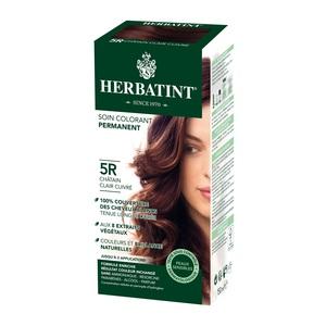 Coloration Herbatint Châtain Clair Cuivré - 5R.145 ml 122852