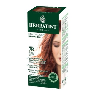 Coloration Herbatint Blond Cuivré - 7R.145 ml 122853