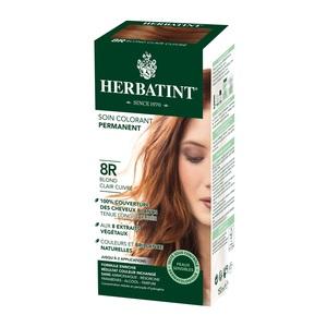 Coloration Herbatint Blond Clair  Cuivré - 8R.145 ml 122854