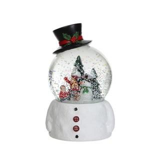 Boule à neige avec Bonhomme de neige 123234