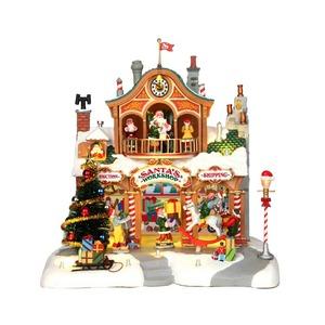 Le magasin du Père Noël 27.5 x 25 x 27 cm 123995