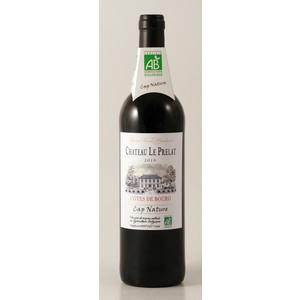 Vin rouge de Bordeaux Bio château le Prelat 75 cl 124973