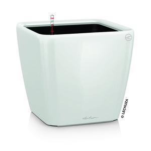 Pot à réserve d'eau Quadro Blanc L.28x28 x H.26 cm 128967
