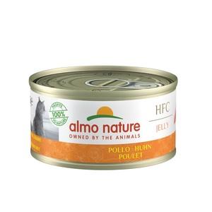 Boïte pour chat Almo nature poulet impérial 70 g 129294