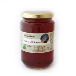 Miel bio de châtaignier en pot de 1 kg 130153