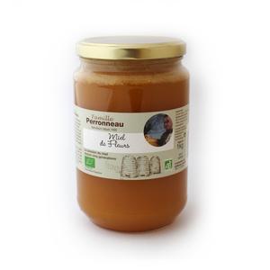 Miel bio de fleurs sauvages en pot de 1 kg 130155