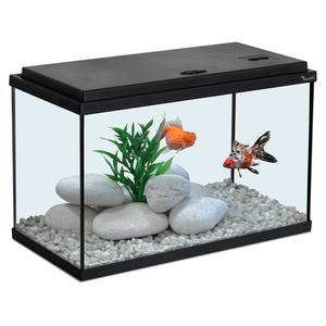 Aquarium noir 40x20xH25 cm 130370