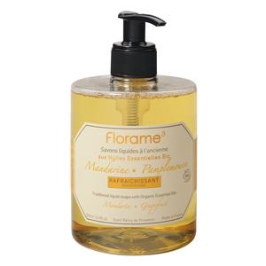 Savon liquide Bio pour les mains Mandarine Pamplemousse 500 ml 137649