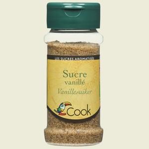 Sucre vanillé bio en pot de 65 g 14419